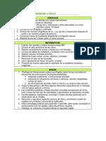 CRITERIOS DE PROMOCIÓN DEL 1º CICLO