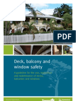 Deck Balcony Guideline