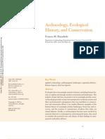 Hayashida-Archaeology Ecological HIstory