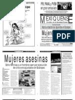 Versión impresa del periódico El mexiquense 25 abril 2011