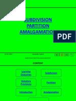 Legal Studies III Module 10 Subdivision
