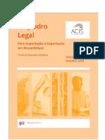Beira Importacao Exportacao Edicao I Portugues