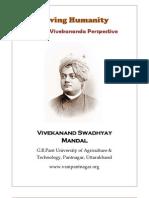 Saving Humanity Swami Vivekanand Perspective