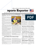April 24-May 1, 2012 Sports Reporter