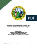 Procurement Solicitation Workflow