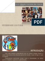 Diversidade Cultural Power Point