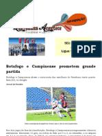 Botafogo e Campinense Prometem Grande Partida