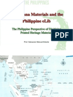 Philippine Perspective of Digitizing Printed Heritage Materials (Part1)