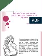 Situación actual de la salud materno infantil en