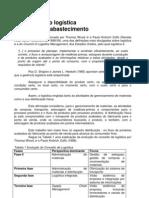 Gestão Logistica - Artigo - Administração logística e a cadeia de abastecimento