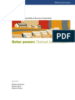 McKinsey Report on Solar