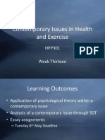 HPP301 Week Thirteen Slides