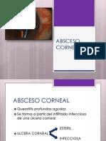 Absceso Corneal