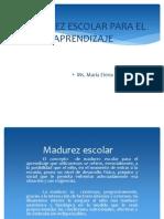 Madurez Escolar - Javier Mendoza