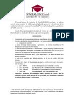 Conclusiones II Congreso Nacional de Derecho