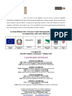 Regolamento Concorso 2012