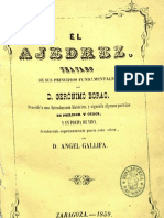 El ajedrez-Tratado de sus principios fundamentales por Gerónimo Borao