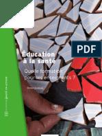 Education a la santé
