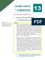 1º Corintios. Estudio 13