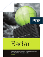 Weather Radar - Factsheet 15