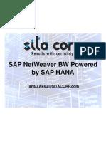 Sita Corp Bw Powered by Sap Hana Webinar