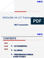 Pasolink Lct Menu