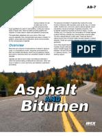 AD 7 Asphalts Bitumens 111109
