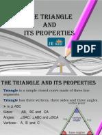 The E Tutor - Properties of Triangle