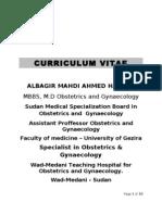 CV Albagir Mahdi Ahmed