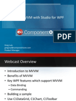 Learn MVVM With Studio for WPF