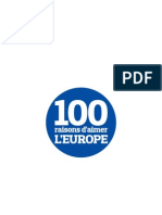 100 Raisons Aimer Europe