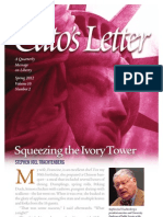 Squeezing the Ivory Tower, Cato Cato's Letter No. 10