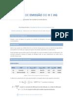 Relatório do Trabalho Prático 1 - Espectro de emissão de H e Hg