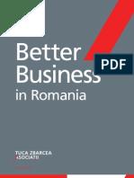 Better Business in Romania Tuca Zbarcea Asociatii