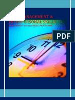 Management Development Programme- Time Management & Interpersonal skills