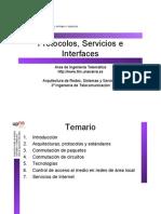 Redes Protocolo y Servicios