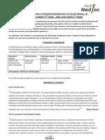 Medsoc Guide to Dissertation- Homebases