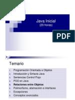 Curso Java Inicial - 5 Relaciones entre Objetos