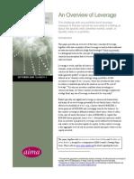 AIMA Canada Strategy Paper 06 Leverage