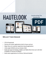 Constructing the HauteLook Mobile Experience