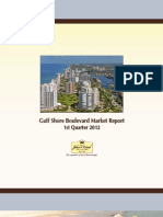 Gulfshore Blvd 1st Qtr 2012 Market Report