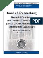 Duanesburg Town Audit
