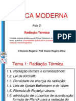 aula 2 FM - Radiação Térmica