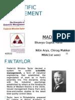 Scientific Management (2)