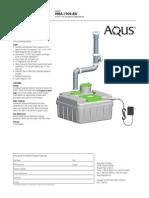 Www.watersavertech.com AQUS Specifications Sheet