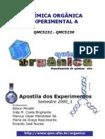 Apostila de Experimentos - Qu-Mica Org-nica