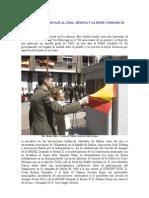 Entrañable homenaje al Gral. Reding y al RIMZ Córdoba 10