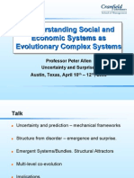 Understanding Social and Economic Systems