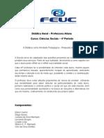 Didática Geral FEUC 2012