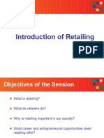 Retail Management - Introduction